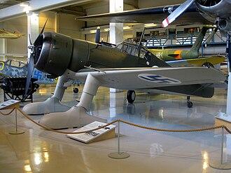 Fokker D.XXI - Fokker D.XXI (FR-110) in Aviation Museum of Central Finland