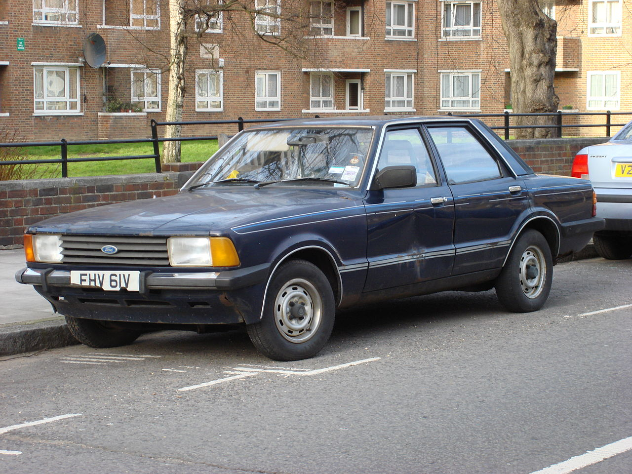 Ford Cortina Mk Two Door Pre Airflow Car Inside