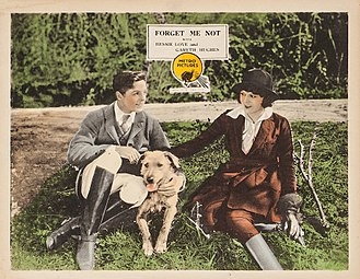 Forget Me Not (1922 film) - Image: Forgetmenot lobbycard a 1922