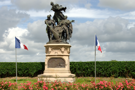 Monument commemorating the battle of Formigny