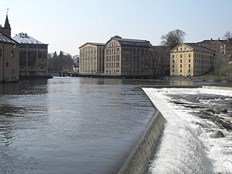 Motala flows in Norrköping