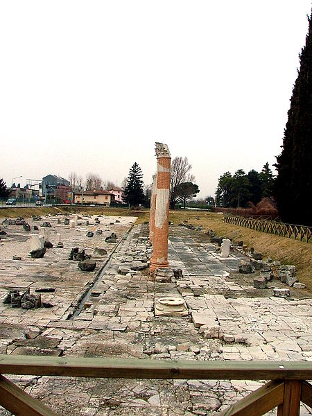 Аквилейская гавань должна была уступить