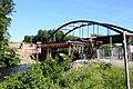 Foto-Denkmal (Reihe, wird fortgsetzt) Verlegung B173 in Flöha, Brückenbauwerk 4, Stützkonstuktion Fahrbahnschalung - panoramio.jpg