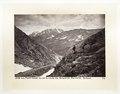 Fotografi av berg i Schweiz - Hallwylska museet - 103171.tif
