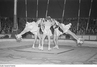 Artistic roller skating - Germany in 1952