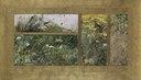 Four Bird Studies, Red-Backed Shrike, Corncrake, Chaffinches, Willow Warbler. (Bruno Liljefors) - Nationalmuseum - 23922.tif