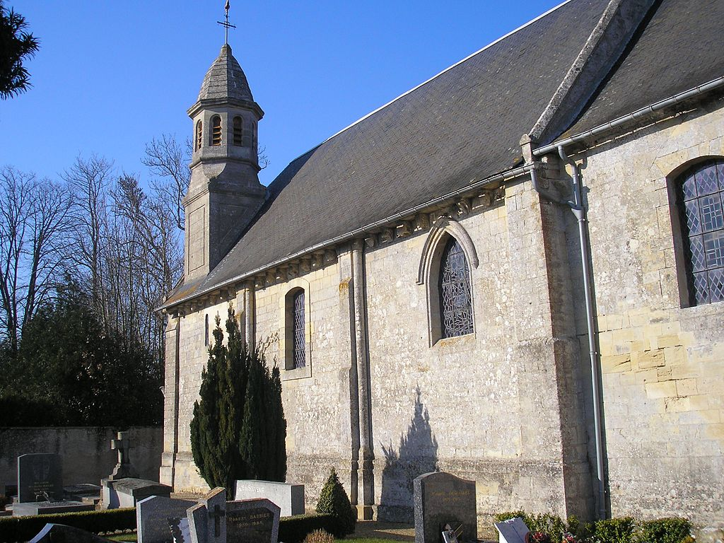 FranceNormandieColombySurThaonEglise.jpg