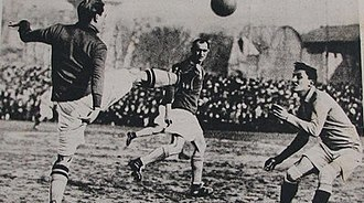 1921 in association football - France – Italy (1–2), friendly, 20th February 1921.