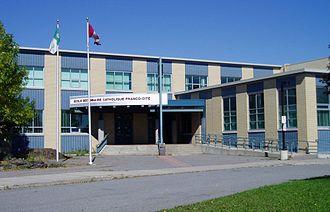 École secondaire catholique Franco-Cité - Image: Franco Cite