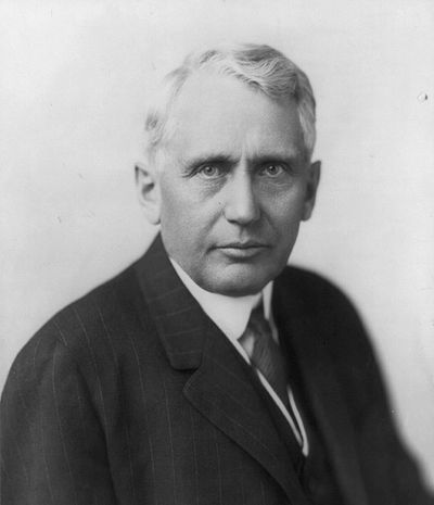 Frank B. Kellogg, American politician, and 45th Secretary of State in the United States