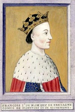 Francis I, Duke of Brittany - Image: Franta 1