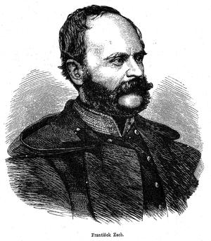 František Zach - František Zach in 1867.
