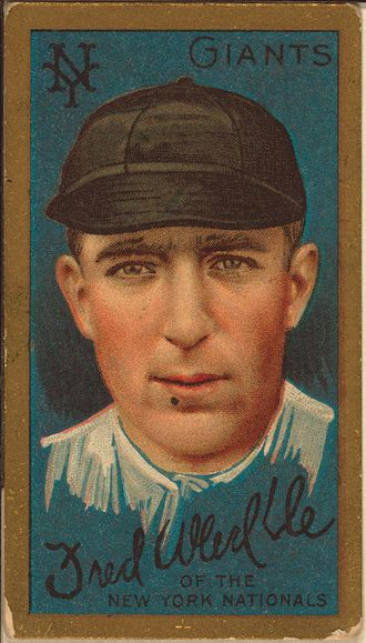 Fred Merkle - Merkle's baseball card