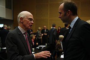 Fredrik Olsen - Image: Fred Olsen og Trond Giske