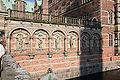 Frederiksborg Slot Hilleroed Denmark inner courtyard wall2.jpg
