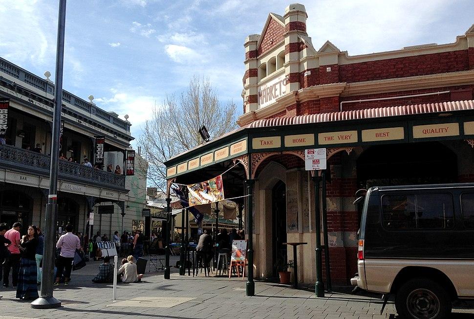 Fremantle Markets northwest corner iphone shot 2013