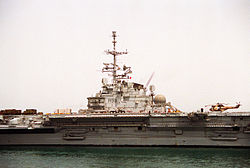 French aircraft carrier FS Clemenceau (R-98).JPEG