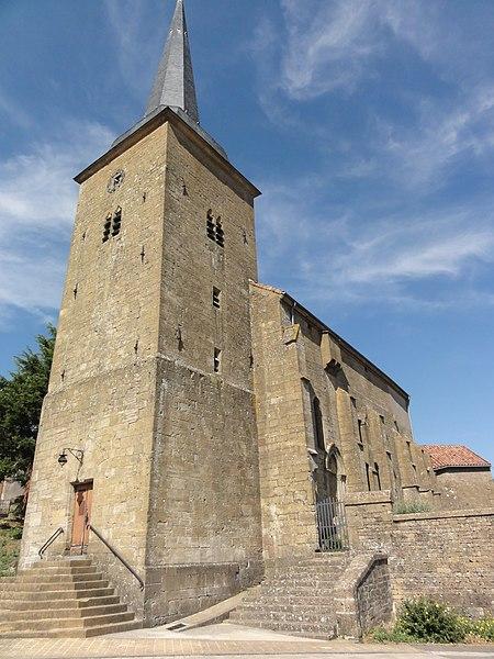 Fresnois-la-Montagne (Meurthe-et-M.) église