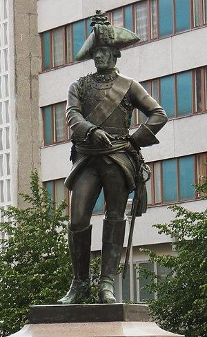 Jean-Pierre-Antoine Tassaert - Statue of Friedrich Wilhelm von Seydlitz in Berlin