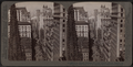 From Empire Building (n.) past Trinity Church steeple, up Broadway, New York, U. S. A, by Underwood & Underwood.png