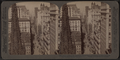 From Empire Building (n.) past Trinity Church steeple, up Broadway, New York, U. S. A., by Underwood & Underwood 3.png