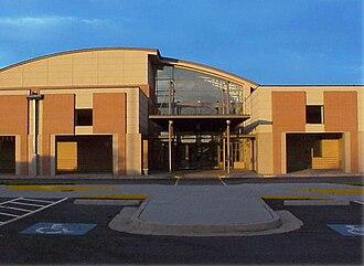 Grayson High School - Front entrance of Grayson High School