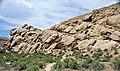 Frontier Sandstone (Upper Cretaceous; western Dinosaur National Monument, Utah, USA) 16 (48822461637).jpg