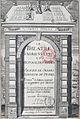 Frontispiece of 'Le Théâtre d'Agriculture', 3rd ed, 1605, by Olivier de Serres - Gallica 2011 (adjusted).jpg