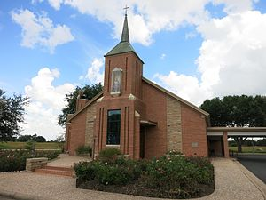 Frydek, Texas - Image: Frydek TX St Marys Catholic Church