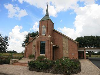 Frydek, Texas - Image: Frydek TX St Marys Catholic Church