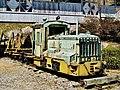 Fukuzawa Momosuke Memorial and Mountain Historical Museum Kiso Forest Railway Sakai diesel locomotive.jpg