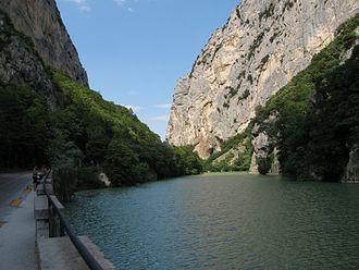 Furlo Pass - The gorge