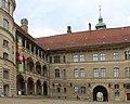 Güstrow, Schloss, der Innenhof.JPG