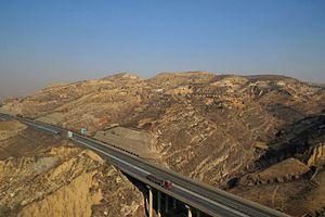 G20 Qingdao–Yinchuan Expressway - Image: G20 Qingdao Yinchuan Expressway in Renjiashan (20151229131842)