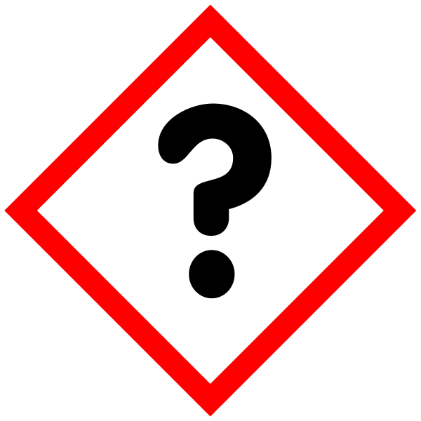 Description GHS-pictogram-question.svg