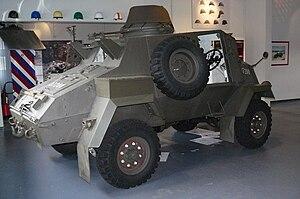 Otter Light Reconnaissance Car - Image: GMC Otter Cavaleriemuseum Amersfoort 025