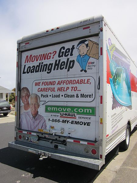 Toys For Trucks Wisconsin : File gmc u haul truck front rear g wikimedia commons