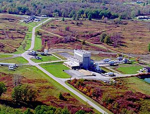 Glenn Research Center - GRC Plum Brook Station Spacecraft Propulsion Facility (B-2)