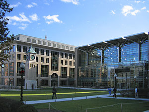 Center for Transnational Legal Studies - Image: GULC south quad
