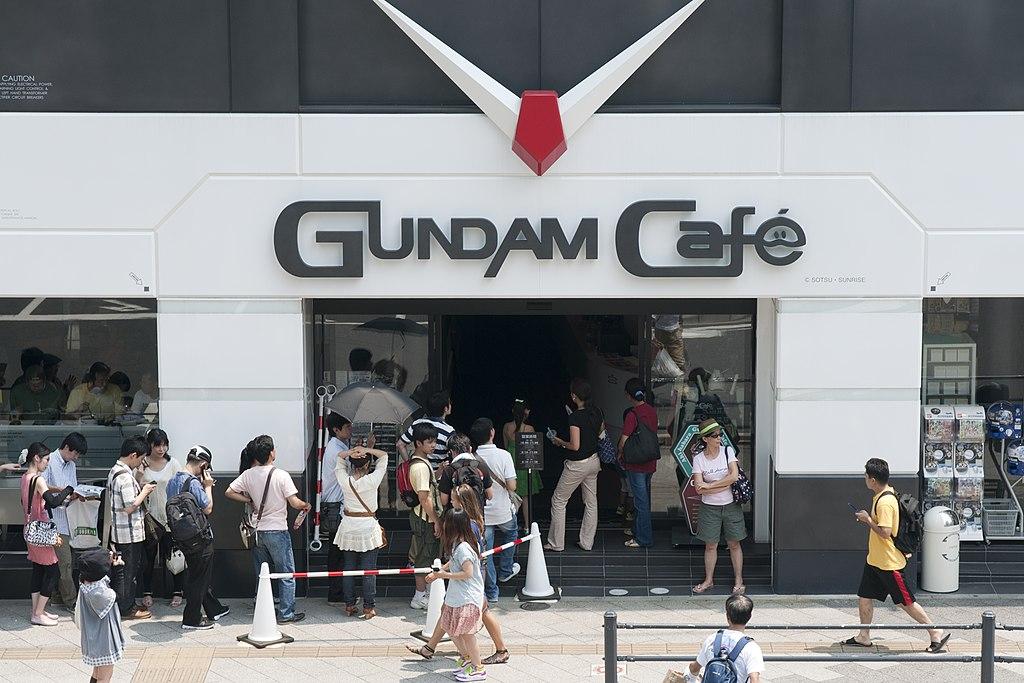 GUNDAM Café, Akihabara, 2010-07-24