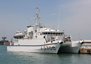 Ninfe-class research vessel - Image: Galatea (A 5308) 05