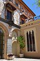 Galeria Daurada i trifora, pati de les canyes, palau Ducal de Gandia.JPG