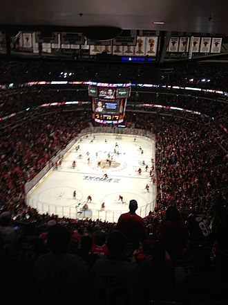 2012–13 Chicago Blackhawks season - Just before Game 2 of the 2013 Stanley Cup Finals at the United Center.