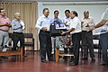 Ganga Singh Rautela Receives Retirement Gift From Anil Shrikrishna Manekar - NCSM - Kolkata 2016-02-29 1662.JPG