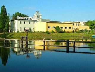 Ludwig Buchholzs tannery in Bydgoszcz Factory