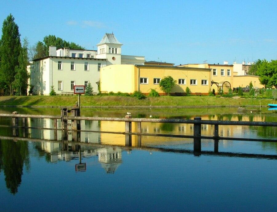 Ludwig Buchholz's tannery in Bydgoszcz
