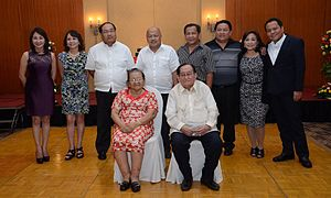 Gwendolyn Garcia - Gov. Gwen Garcia (leftmost, second row) with her family.