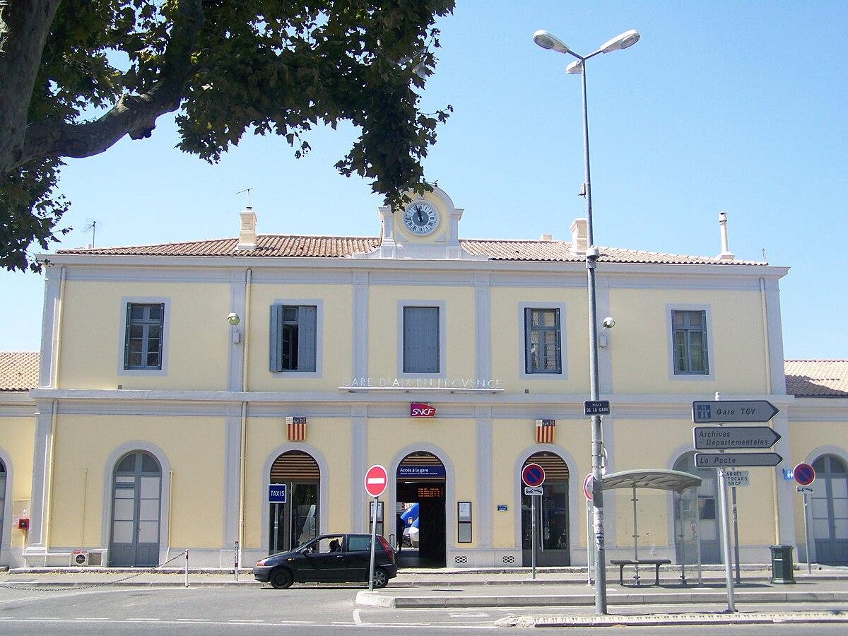 Gare d 39 aix en provence wikip dia - Aix en provence salon de provence bus ...