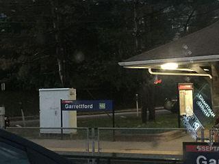 Garrettford station SEPTA trolley station