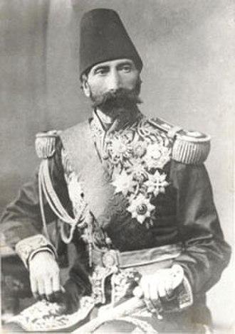 Amir Nezam House - Hasan-Ali Khan, Hasan Ali Khan Garroosy